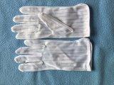 Luvas pontilhadas PVC do trabalho do ESD da sala de limpeza