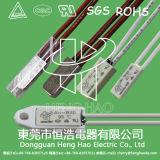 Interruptor termal del recorte para la batería recargable