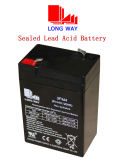 6V4ah juega la batería de plomo sellada sin necesidad de mantenimiento recargable