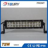 barra chiara fuori strada dell'automobile LED della lampada della barra del CREE LED di 72W 4D 4X4