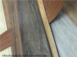 Het marmeren Houten Vinyl van het Patroon van het Tapijt klikt de Bevloering van pvc
