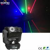 Laser da mágica do RGB das cabeças do profissional 9