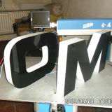 Advertizing Desplay를 위한 측과 Back Lit LED Acrylic Channel Letter