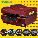 Sales (ST-3042)のためのFreesub Heat Press 3D Sublimation Machine