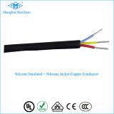Ygcp 2 Core Силиконовый медный многогранный круглый гибкий кабель