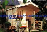Chambre en bois de jardin (QZW8014)