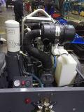 地図書のCopco Liutech 178cfmの手持ち削岩機のための携帯用ディーゼル空気圧縮機