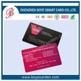 Tarjeta de visita de impresión de la tarjeta de visita que hace la impresión del PVC