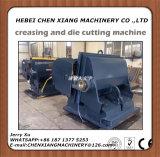 Máquina vincando e cortando do cartão Cx-750 manual