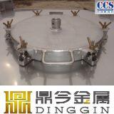 Tipo caliente popular líquido y lodo del tanque del acero inoxidable IBC