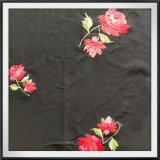Ricamo di lavoro a maglia della Rosa del ricamo del fiore del ricamo