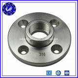 Bride modifiante de la classe 150 NA 16 de l'acier inoxydable Ss3016 de l'acier du carbone A105