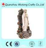 Il materiale benedetto di Polyresin della statua della Mary di Virgin della madre