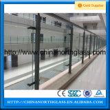 Heißes ausgeglichenes Sicherheitsglas des Verkaufs-12mm für Balkon