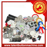 Pulsante distintivo della latta Componenti Materiali Pin Button Badge Accessori