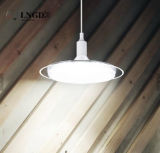 Bulbo del UFO del plástico E27 50W LED de la lámpara del platillo volante