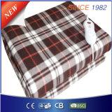 終わる熱保護の柔らかい羊毛の電気熱くする下毛布