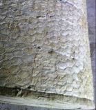 Malla de alambre de mineral de aislamiento térmico de lana de roca Manta