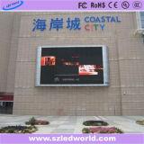 Рекламировать фабрики экрана доски индикаторной панели полного цвета СИД SMD3535 P10 напольный фикчированный