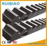 Aufbau-Hebevorrichtung-Teile, Stahlzahnstange des gang-C45