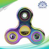 Zink-Legierungs-Aluminiumlegierung-Finger-Handspinner-Unruhe-Spielwaren-Spinner mit dem Anti Metallkasten entlasten Druck-Spielwaren