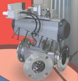 Válvula de desviador (transporte neumático)
