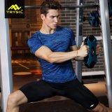 Usura attiva della maglietta di ginnastica della camicia di sport delle calzamaglia del Mens di modo