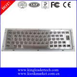 Clavier en métal d'acier inoxydable de 64 clés