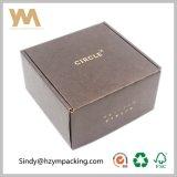 Personalizada de lujo plegable de papel Kraft Caja de embalaje / corrugado de correo Caja de cartón de entrega