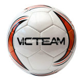 Balón de fútbol de calidad superior de la talla oficial material del PVC