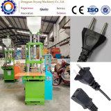 Máquinas plásticas verticais da modelação por injeção da fábrica chinesa do sistema manual