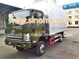中国Sinotruk 4*2ヴァンContainer Lightの中型の貨物トラック