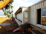 Casa de galinha moderna com equipamento automático e a instalação rápida