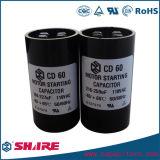 Motorstartkondensator 20UF Wechselstrom-CD60 zu 1600UF