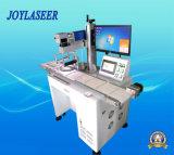 Máquina de la marca del laser de la fibra con el sistema de detección automático visual