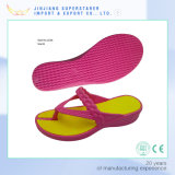 Dos Colores Liviana EVA Ladies Flip Flop Zapatillas