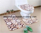 3PCS 목욕탕 고정되는 편리한과 비 미끄러짐 산호 양털 매트