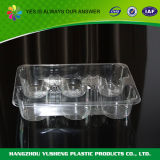 Recipienti di plastica trasparenti liberi a gettare