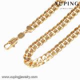 Form-Schmucksache-Gold überzogene Schlange-Halskette