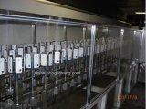 Línea de pintura automática de husillo-transportador para piezas de plástico