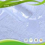 低刺激性の合われた50%Cottonによって合われるシート様式の防水マットレスの保護装置