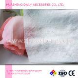 綿が付いている乾燥したタオル、赤ん坊のワイプ