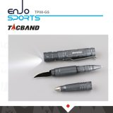 Torcia elettrica tattica della penna W/LED dello Multi-Strumento di Tacband Tp08, lama, fumo di pistola di punta del tungsteno