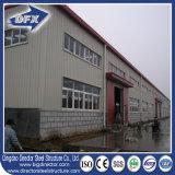 鋼鉄建築構造の小さい鉄の構造の工場建物