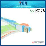 Цветастая высокоскоростная оптовая продажа кабеля USB данным по мобильного телефона на iPhone 5/6