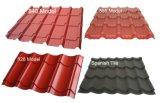 El color cubrió la placa de material para techos de acero/la hoja galvanizada cubierta primero