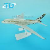 Nuovo A380 1/200 37cm modello dell'aeroplano della plastica di Edihad