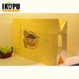 Eco 친절한 관례에 의하여 인쇄되는 포일 쇼핑 선물 종이 봉지