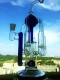 tubo di vetro dello Showerhead dei 2016 il più in ritardo tre riciclatori
