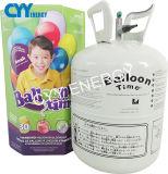 Tipo portable cilindro del globo del helio del partido